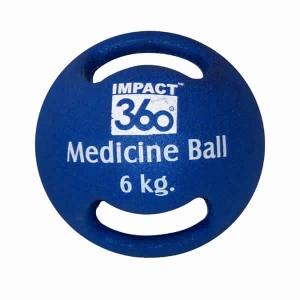 DUAL HANDLE MEDICINE BALL