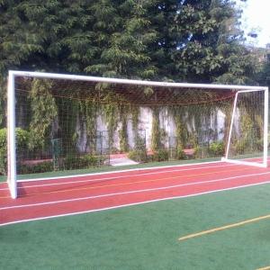 Football Goal Post Moveable Aluminium