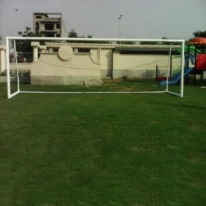 Football Goal Post Moveable Iron