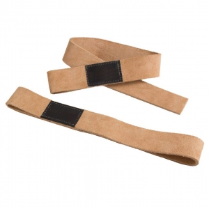 Weight Lifting Leather Strap