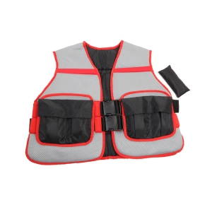 WEIGHTED VEST PADDED MESH