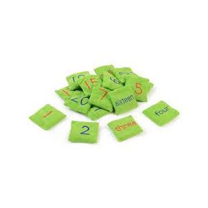 Numeric Bean Bag