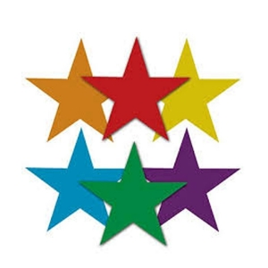 RUBBER MARKER STAR SHAPED