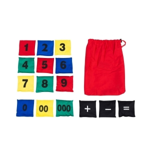 NUMBERED BEAN BAG SET