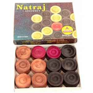 CARROM MEN NATRAJ
