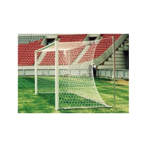 FOOT BALL/SOCCER GOAL BRAIDED NETS HEXAGON MESH KNOTLESS