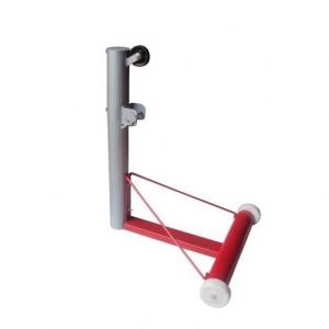 Tournament Moveable Lawn Tennis Pole Iron