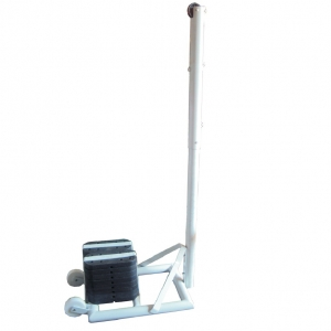 Tournament Volleyball Pole Aluminium